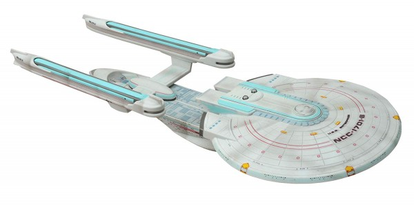 U.S.S. Enterprise 1701-B - BATTLE DEMAGED Raumschiff Modell Star Trek - ca. 43 cm