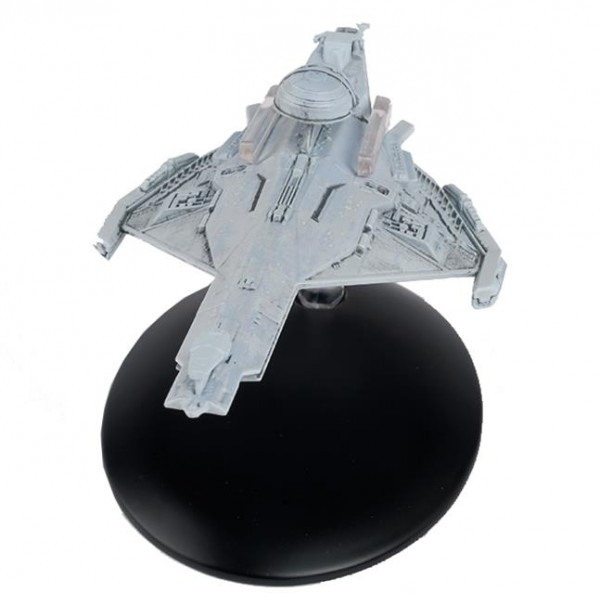 Promellian Battle Cruiser Star Trek Raumschiff Modell mit englischem Magazin #142 Eaglemoss