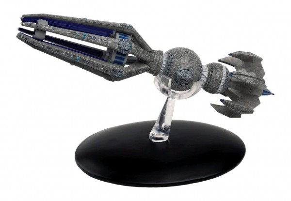 Krenim Temporal Weapon Raumschiff Modell mit englischem Magazin #22 Eaglemoss Star Trek