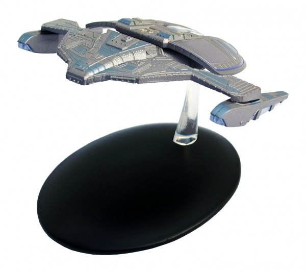 Jem´Hadar Fighter Modell mit deutschem Magazin #29 Eaglemoss Star Trek