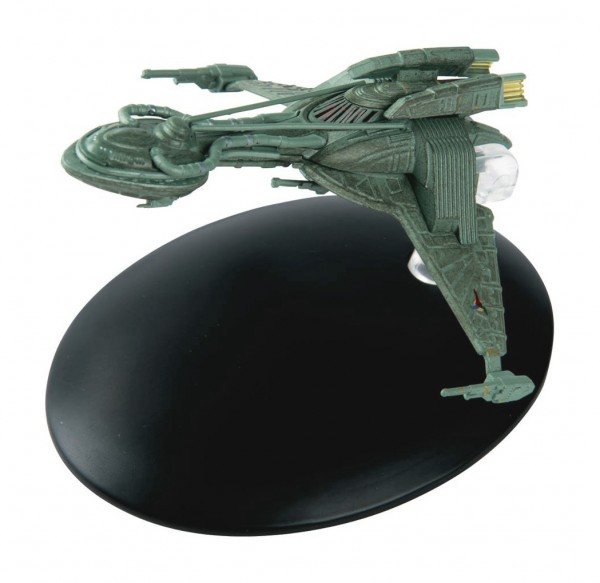 Klingon Bird-of-Prey (2150s) Modell mit deutschem Magazin #35 Eaglemoss Star Trek