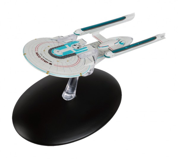 USS Enterprise NCC-1701-B Modell mit deutschem Magazin #40 Eaglemoss Star Trek