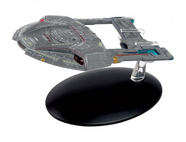 Steamrunner Class Modell mit deutschem Magazin #54 Eaglemoss Star Trek