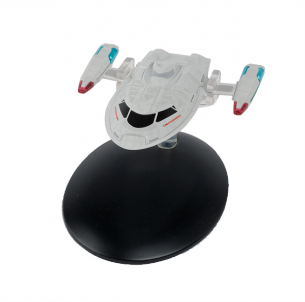Cousteau Yacht des Captains NCC-1701-E Modell mit deutschem Magazin #75 Eaglemoss Star Trek