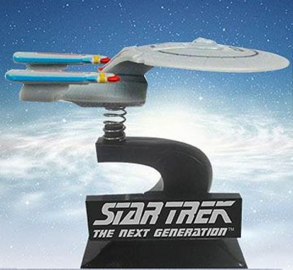 1701-D Enterprise Wackelfigur Monitor Mate - Star Trek