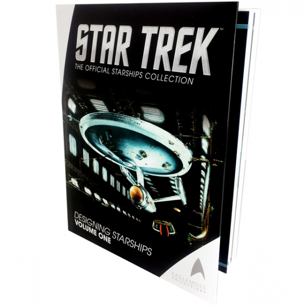 Star Trek Designing Starships Volume One Eaglemoss
