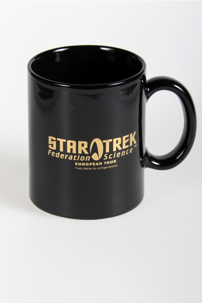 Star Trek Federation Science - Logo Tasse - Gold Auflage