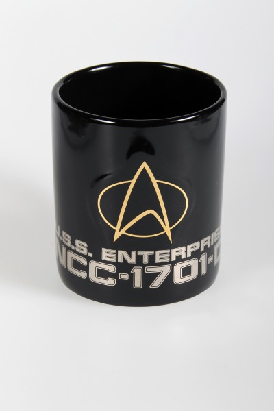 Tasse Communicator Logo U.S.S. Enterprise 1701-D - Star Trek