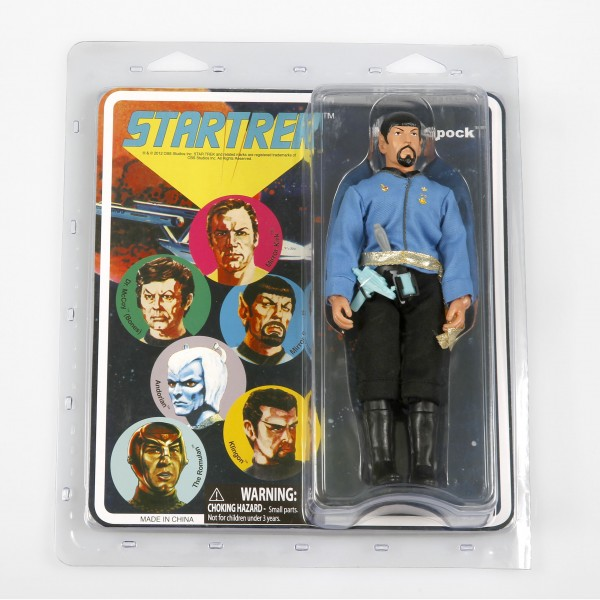 Mirror Spock - Retro Style Action Figur Star Trek