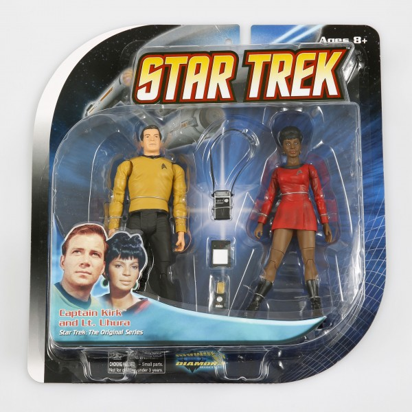 Kirk + Uhura - Action Figuren 2 Pack Raumschiff Enterprise Star Trek