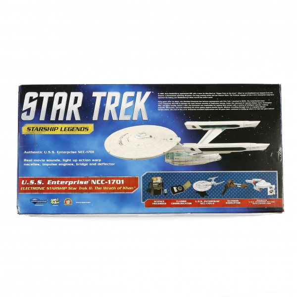 U.S.S. Enterprise 1701 Star Trek II: The Wrath of Khan Electronic Starship