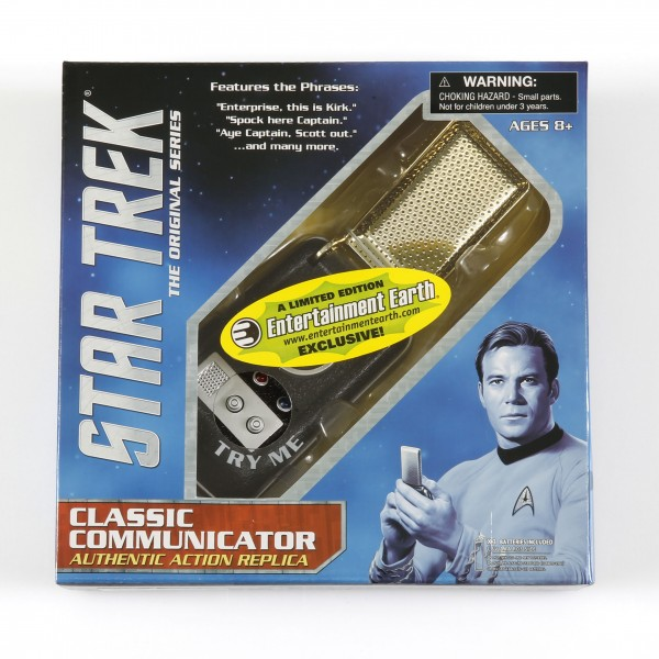 Star Trek Raumschiff Enterprise Classic Communicator