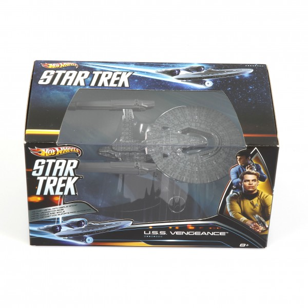 Star Trek U.S.S. Vengeance Raumschiff Modell Hot Wheels
