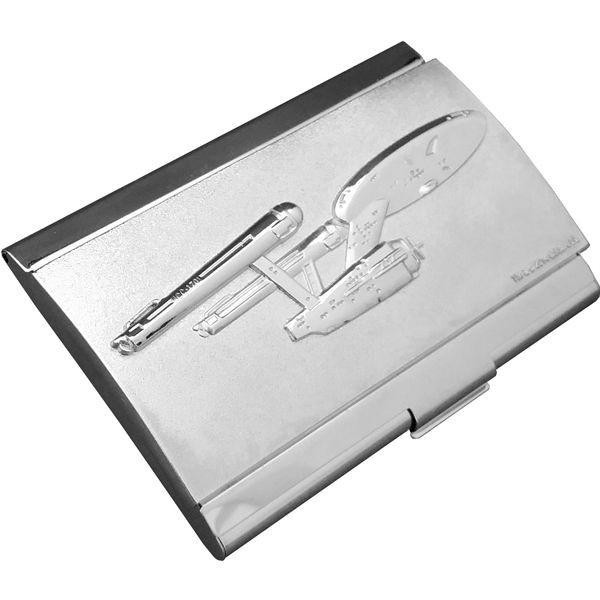 Visitenkarten Etui Enterprise NCC-1701 Star Trek