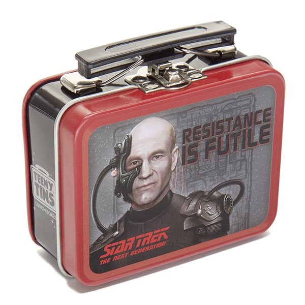 Locutus Mini Sammelbox The Next Generation Star Trek