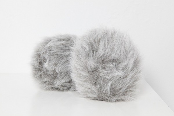 Tribble medium grau - mit sound Star Trek