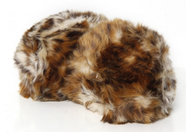 Dschungel Tribble medium Leoparden Muster - mit Sound Star Trek