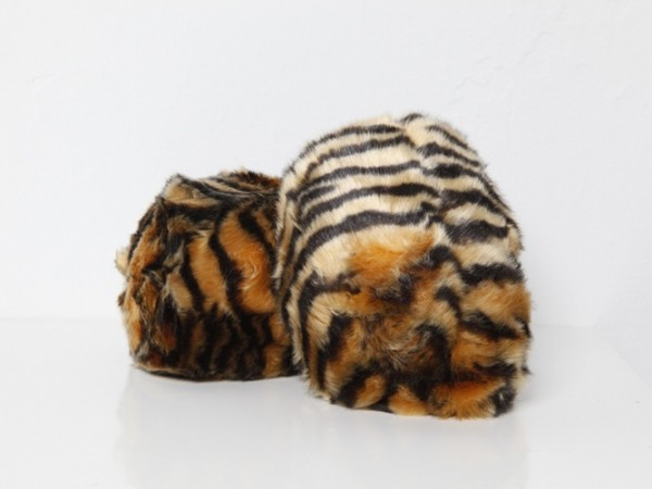 Dschungel Tribble medium Tiger Muster - mit Sound Star Trek