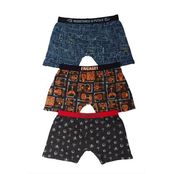 Boxershorts Set 3-teilig - Star Trek