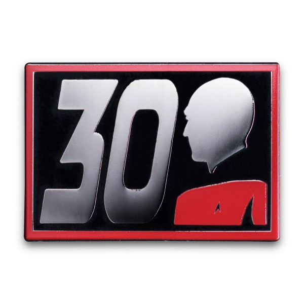 30 Jahre The Next Generation Pin Star Trek