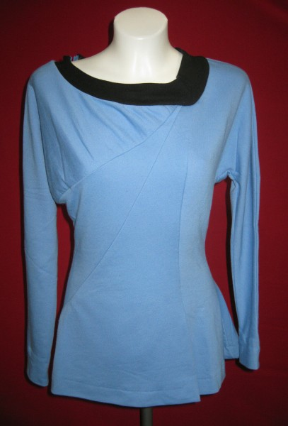 Minikleid Raumschiff Enterprise Baumwolle - Blau Medium - Star Trek TOS Classic