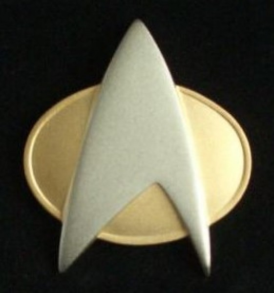 Communicator Pin Matt - The Next Generation - Star Trek