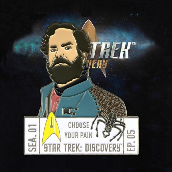 Discovery Episoden Sammler Pin - Staffel 1 Episode 5 - Star Trek official Collectors Edition