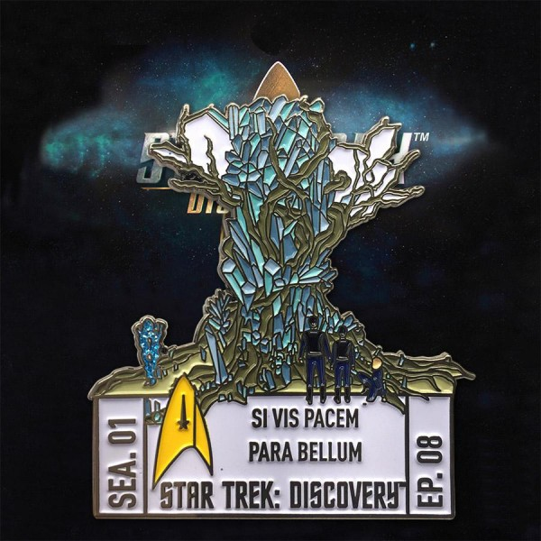 Discovery Episoden Sammler Pin - Staffel 1 Episode 8 - Star Trek official Collectors Edition