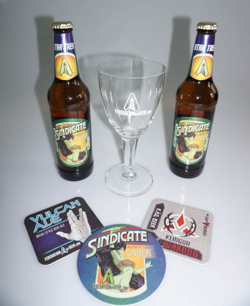 Sindicate Lager exclusives Star Trek Bier Geschenkset mit exclusivem Glas