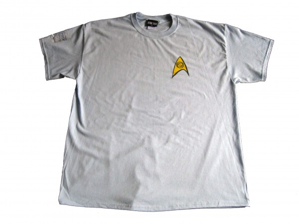 Blaues Crew T-Shirt Science original Serie Star Trek