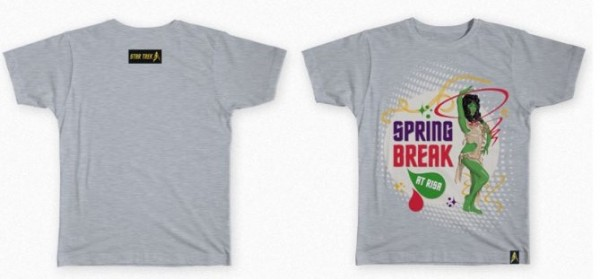 50 Anniversary Spring Break Orion Girl Shirt