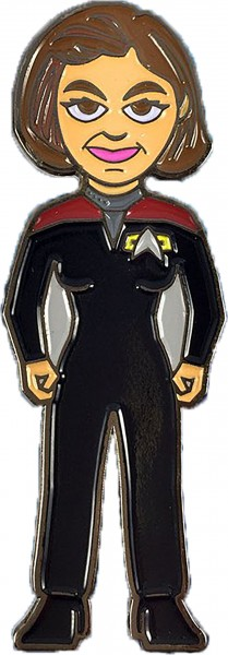 Captain Janeway Sammler Pin Star Trek official Collectors Edition