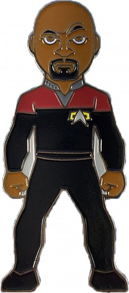 Captain Benjamin Sisko Sammler Pin Star Trek official Collectors Edition