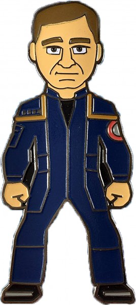 Captain Jonathan Archer Sammler Pin Star Trek official Collectors Edition