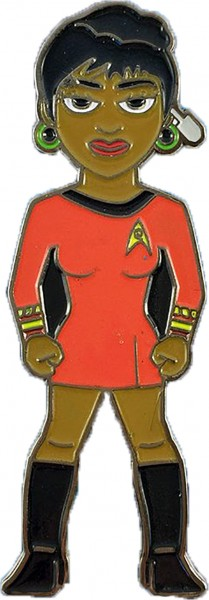 Lieutenant Uhura Sammler Pin Star Trek official Collectors Edition