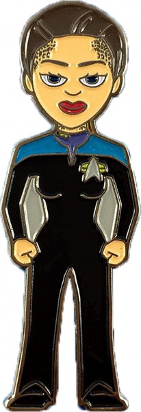 Lieutenant Commander Jadzia Dax Sammler Pin Star Trek official Collectors Edition