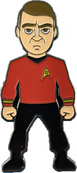 Lieutenant Commander Scotty Sammler Pin Star Trek official Collectors Edition