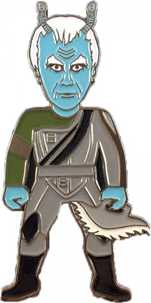 Thy'lek Shran Andorianer Sammler Pin Star Trek official Collectors Edition