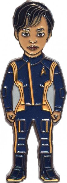 Michael Burnham Command Uniform gold Sammler Pin Star Trek official Collectors Edition