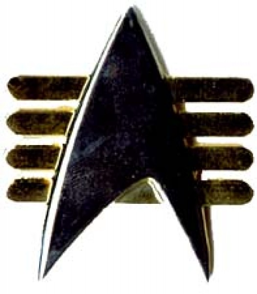 Future Communicator Pin Star Trek
