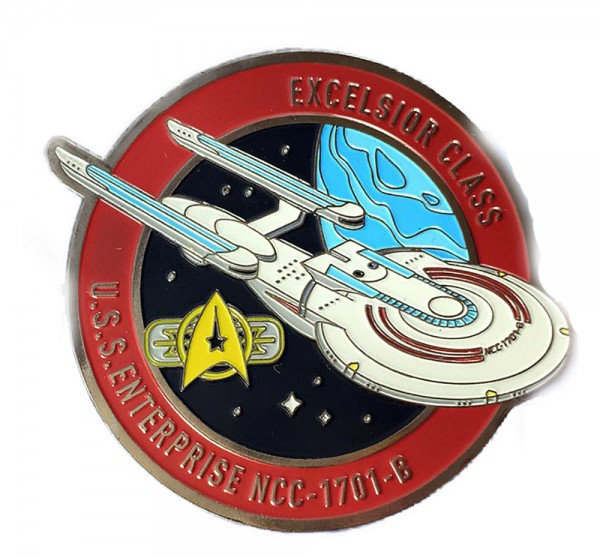 U.S.S. Enterprise NCC-1701-B Sammler Pin Star Trek official Collectors Edition