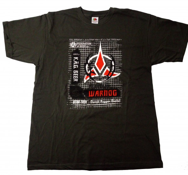 Klingon Warnog Bier Shirt Star Trek