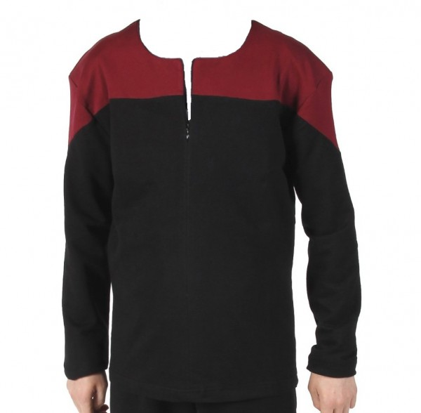 Voyager Uniform Shirt - Command Rot XL - Baumwolle - Star Trek