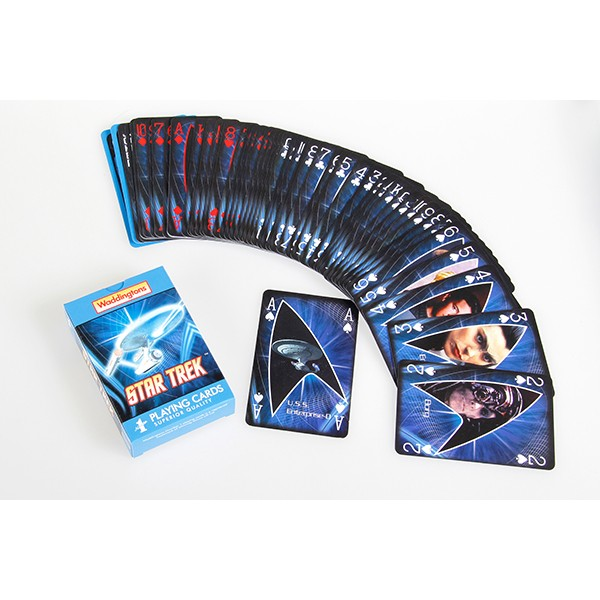 Spielkarten Deck Star Trek