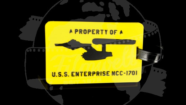 "Koffer Anhänger ""A Property of U.S.S. Enterprise NCC-1701"""