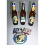 Sindicate Lager exclusives Star Trek Bier 3 Flaschen + Bierdeckel