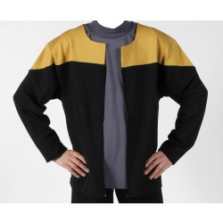 Voyager Uniform Jacke - Engineering Gold XXL - Baumwolle - Star Trek