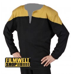 Voyager Uniform Shirt - Engineering Gold - Deluxe - Star Trek