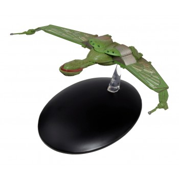 Klingon Bird of Prey Raumschiff Modell mit deutschem Magazin #4 Eaglemoss Star Trek