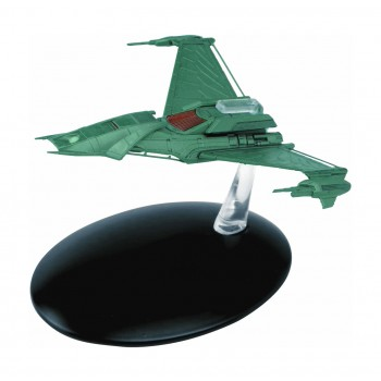 Klingon Augments´ Ship Modell mit deutschem Magazin #53 Eaglemoss Star Trek